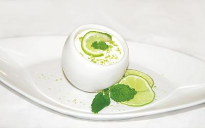 Buttermilch-Limetten-Creme