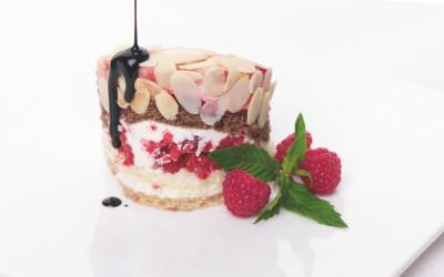 Himbeer-Quark-Kuchen